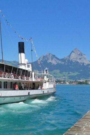 Circular Lake Uri cruise