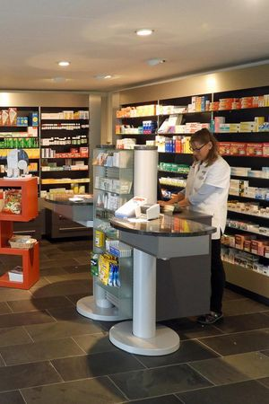 Rütli pharmacy in Brunnen