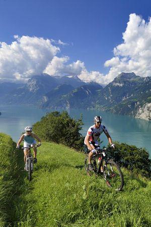 Bergtour bike & climb up