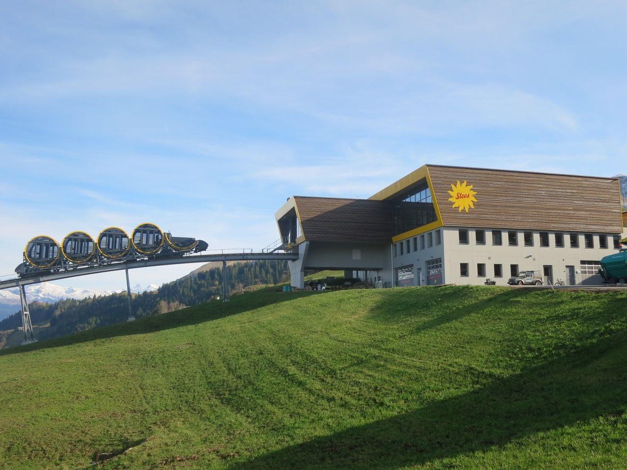 Bergstation Standseilbahn Schwyz-Stoos