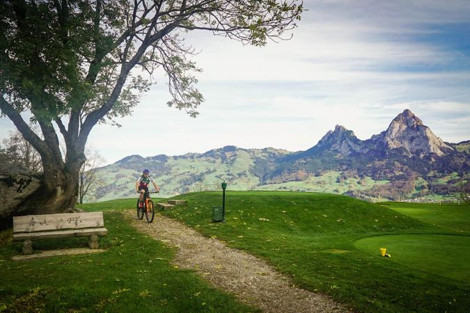 Schwyz, home to cycling all-rounder Andrea Waldis