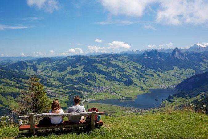 The Rigi Ridge Hike