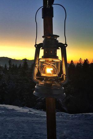 Lantern path Sattel-Hochstuckli