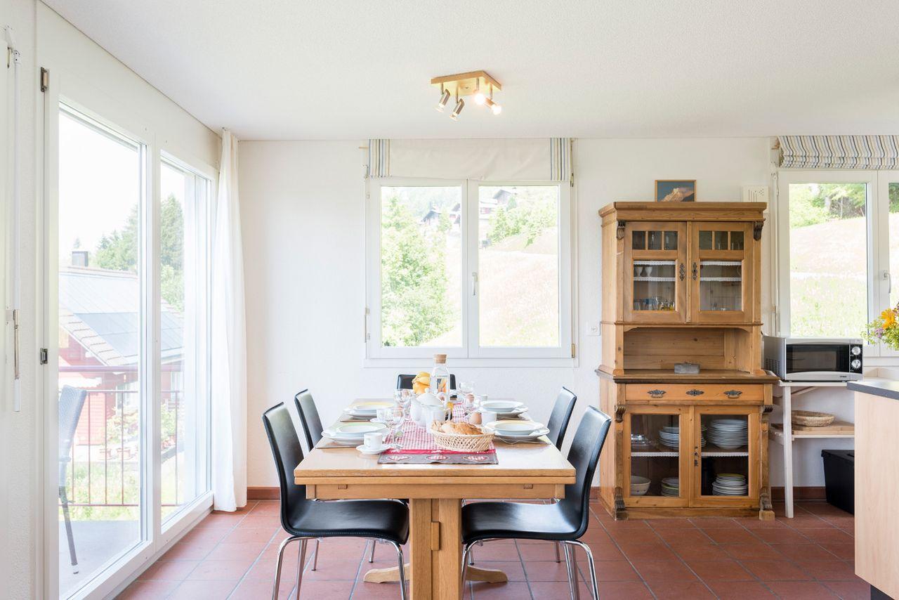 Ferienhaus Ägeriseeblick - Sattel-Hochstuckli, (Sattel). 5.5 Zimmer Ferienhaus