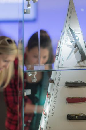 Führung – Swiss Knife Valley VISITOR CENTER & Victorinox Museum