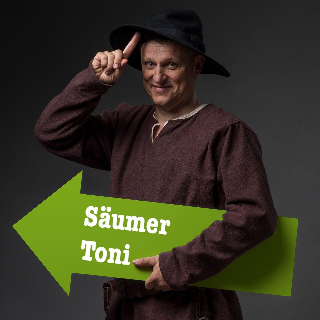 Zeitreise ins Mittelalter mit: Toni Simmen