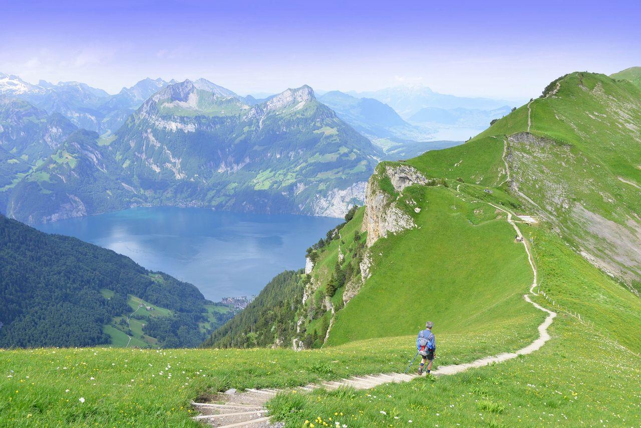 Stoos ridge hike