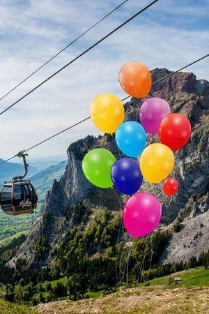Mythenregion – Ballon-Wettbewerb für Kinder