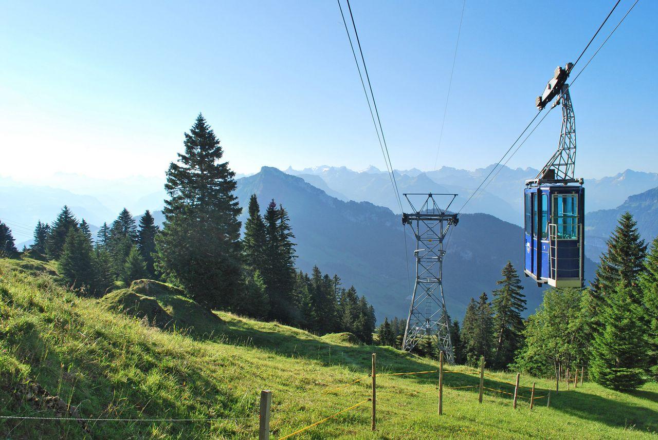 Rigi Burggeist cable car