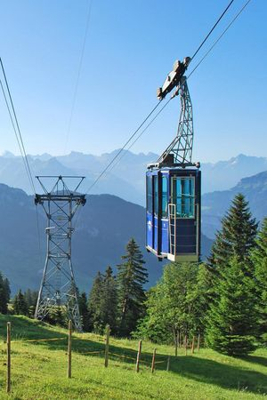 Rigi Burggeist cable car