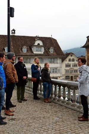 Public guided tour of Schwyz