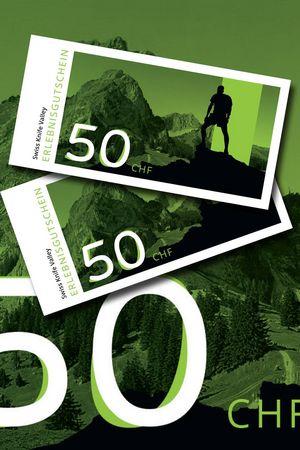 Erlebnisgutschein «Swiss Knife Valley» CHF 50.-