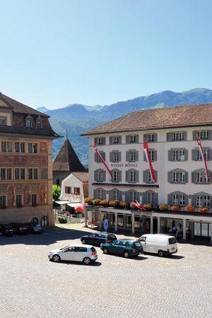 Sommernachtstraum – Hotel Wysses Rössli Schwyz