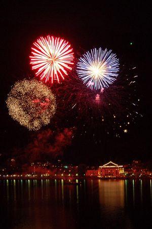 12.2021 | New Year's Eve fireworks in Brunnen