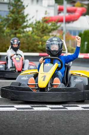 Outdoor Karting Track Morschach