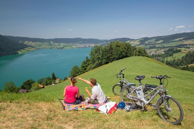 Heart Route - Section 8 Zug-Einsiedeln - SwitzerlandMobility Route 99