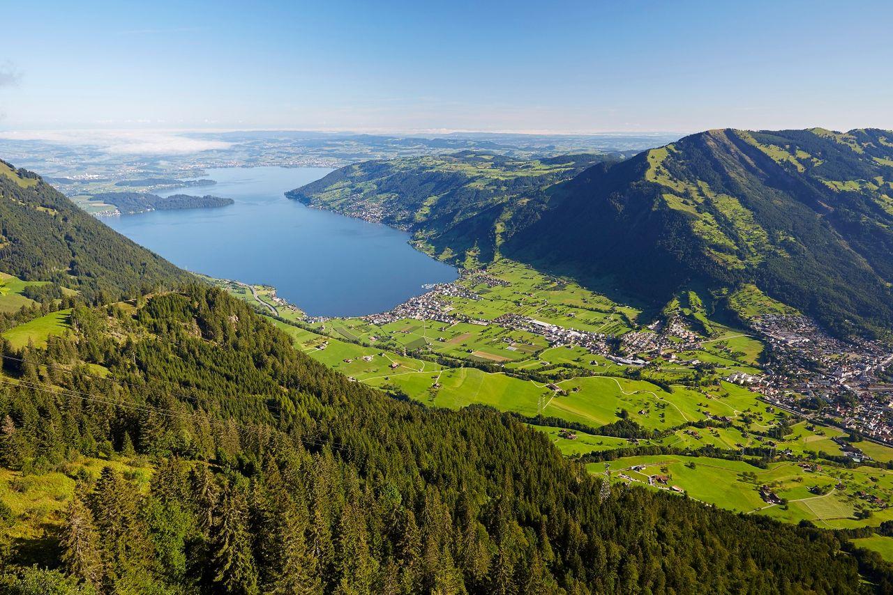 Sections: Brunnen - Rigi-Scheidegg | Schwyzer Valley & Summit Tour