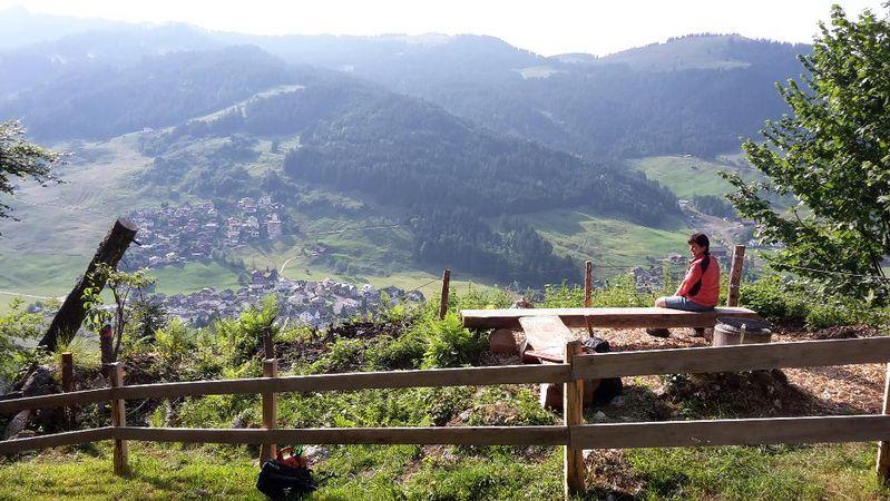 Rundwanderung Unteriberg-Hirsch-Breitplangg