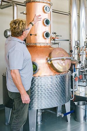 Führung – Z'Graggen Distillerie
