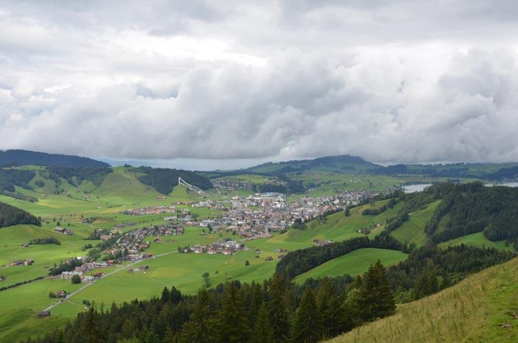 Schwyzer Höhenweg, Etappe 5, Haggenegg – Einsiedeln