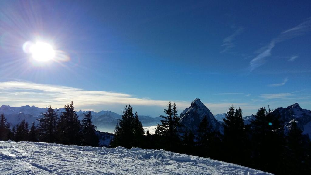 Schneeschuhtrail Furggelen-Ibergeregg