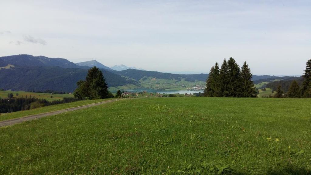 Alpenpanoramaweg Einsiedeln-Unterägeri