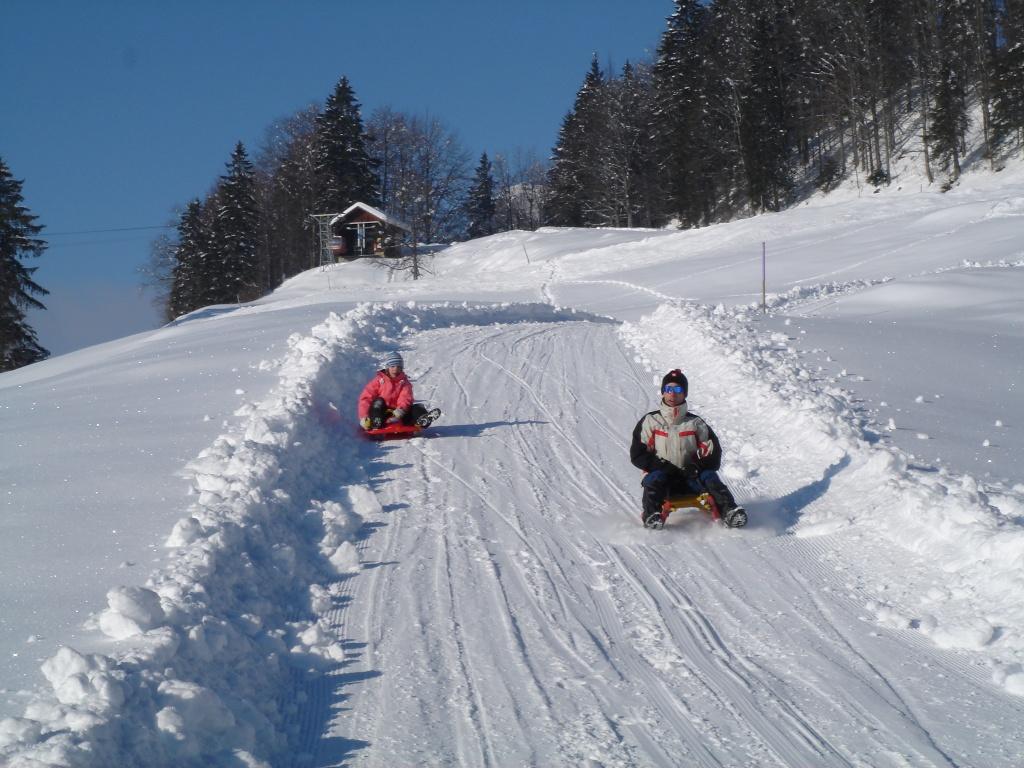 Schlittelpiste Luftseilbahn Illgau-St.Karl