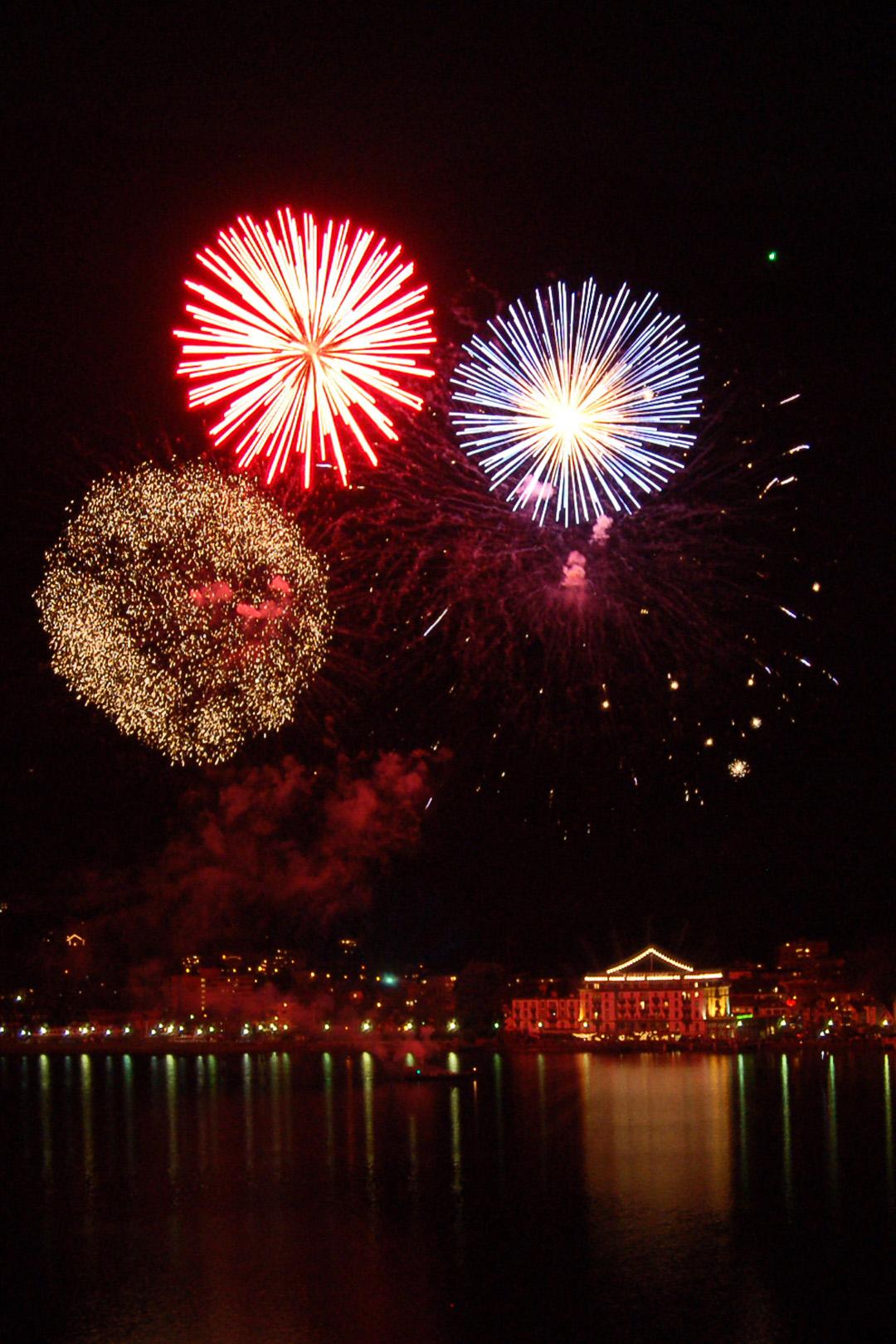 Brunnen New Year's Eve fireworks display